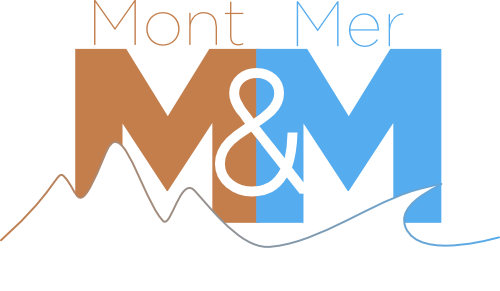 Logo Mont & Mer Evasion, location de vacances