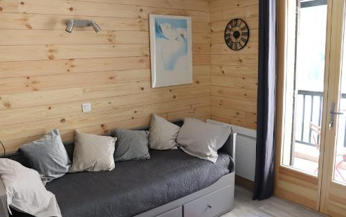 Photo location de vacances, intérieur de l'appartement à louer à Névache dans les Hautes-Alpes