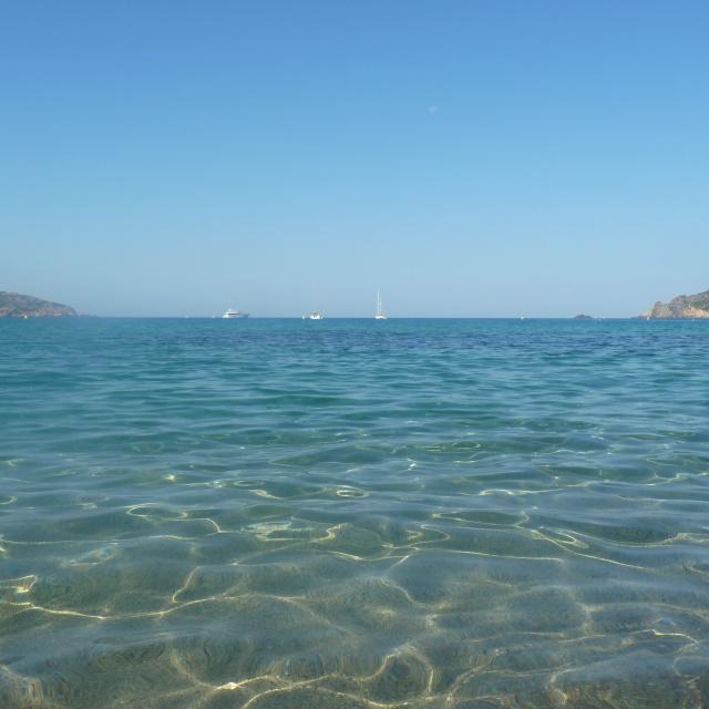 Photo de la plage proche de la maison à louer en Corse du sud dans le golfe de Liscia
