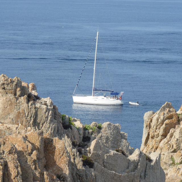 Photo du golfe de Liscia en corse du sud ou se situe la villa à louer